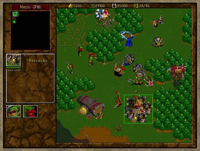 Warcraft 2 Screenshot